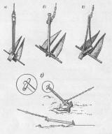 Лодочные якоря своими руками чертежи